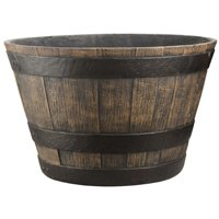 16In Whiskey Barrel Cast Stone By Mintcraft