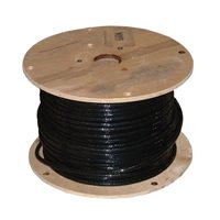 Wire Bldg 2/0Str Thhn500Ft Blk By Southwire Company