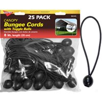 Bungee Ball Cord 8In 25Pc By Keeper