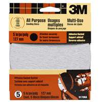 5In Adhes Back Medium Grit By 3M + [