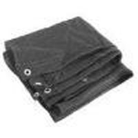 Hd Mesh Tarp 12X16 Black By Mintcraft