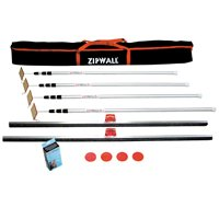 Dust Barrier Kit 4-Pack Plus By Zipwall + [