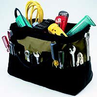 Tool Bag 22Pkt 16In Big Mouth By Custom Leathercraft + [