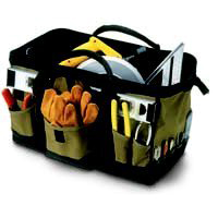 Tool Bag 31Pkt 18In Mega Mouth By Custom Leathercraft + [