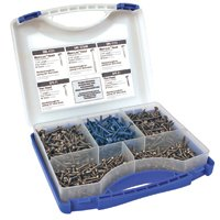 Pocket Hole Screw Kit 675 Pc By Kreg Tool Company + [