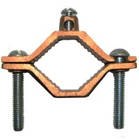 1-1/4-2 Ul Copper Pipe Clamp By Erico + [
