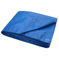 Blue Tarp 8 X 10 Light Duty By Toolbasix