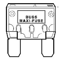 BUSSMANN FUSES Auto Fuse Blade 60A , BP/MAX-60-RP  (Pack of 5) at Sears.com