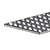 Steel Griil Exp Weld 3/4X12X24 By Stanley Hardware + [