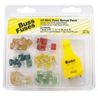 Auto Fuse Mini Blade Asst By Bussmann Fuses