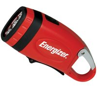 Flashlight 3Led Crank Nimh Red By Energizer Battery