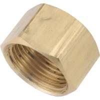 Compression Cap Brass 5/8 By Anderson Metal Corp + [