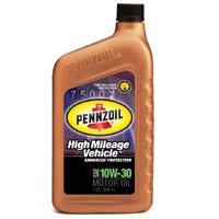 High Mileage 10W30 Qt By Pennzoil Products