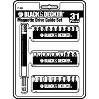 Black & Decker 31Pc Magnetic Insert Bit Set, 71-933