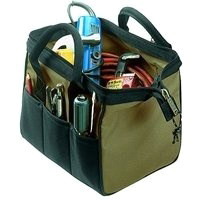 Tool Bag 14Pkt 12In Big Mouth By Custom Leathercraft + [