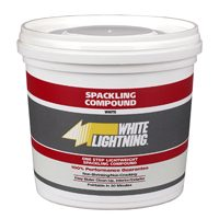 Compound Spackl Lightweight Qt By White Lightning + [