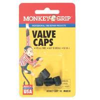 Black Plastic Valve Cap By Victor Automotive + [