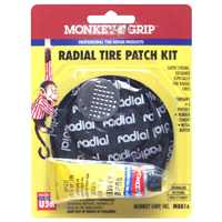 Radial Tire Patch Kit Medium By Victor Automotive + [