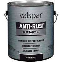 Paint Antirust Obs Flat Blk Ga By Valspar + [