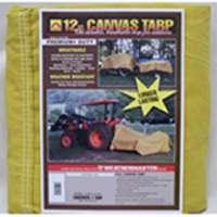 12X18 12Oz Canvas Tarp By Dize Co