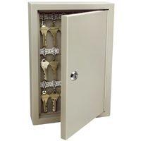 Steel 30 Key Cabinet-Lockable By Kidde + [