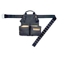 Nail/Tool Bag 6 Pocket Framer By Custom Leathercraft + [