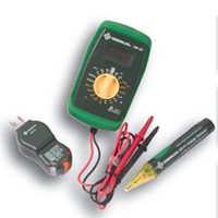 Tester Kit Electric W/Case 3Pc By Greenlee Textron + [