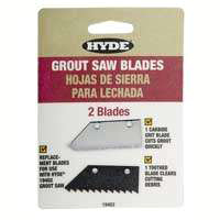 Blade Grout Saw Replacement By Hyde Tools + [