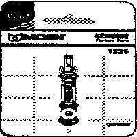 Faucet Cartridge Moen By Moen Inc + [