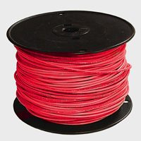Wire Bldg 12G Solx500 Thhn Red By Southwire Company + [