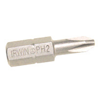 #2 Phlp Insert Bit 1/4Hex 1In By Irwin Industrial + [