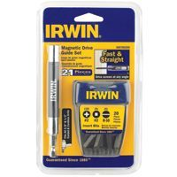 Drive Guide Set Magnetic 21 Pc By Irwin Industrial + [