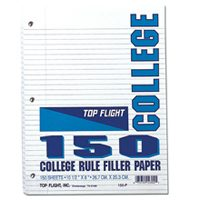 TOP FLIGHT Filler Paper College Rule 150C By Top Flight : (Pack Of 24) at Sears.com