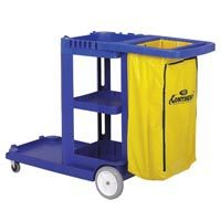 Continental Commercial Light Duty Janitorial Cart Blu By Continental Commercial at Sears.com