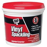 Compound Spackling Vinyl Quart By Dap Inc + [