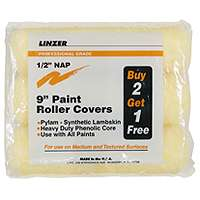 Roller Cover Pylam 3Pk 9X1/2In By Linzer Products + [