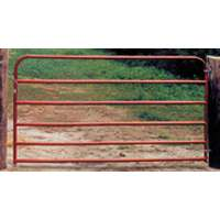 Behlen/Farmaster 20Ga 6 Rail Gate 8X50 Red  By Behlen/Farmaster at Sears.com