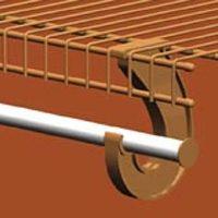 Bar Hanger Closet Rod Stl 8Ft By Closetmaid + [