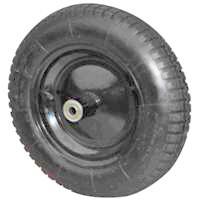 Wheelbarrow Wheel Pneum 16X4In By Mintcraft + [