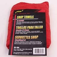 Red Woven Shoptowels 3Pk By Sm Arnold