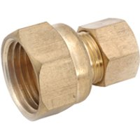 Coupling Brass Cxfip 7/8X1/2 By Anderson Metal Corp + [