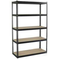 RAPID RACK INDUSTRIES INC Storage Rack 48X24X72Blk 5Shlf, GRZ6-4824-5DI at Sears.com