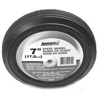 "7X1.50"" 55Lb Stl Rib Tread Whl By Arnold Corp"