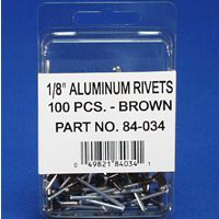 1/8In Brown Rivet By Amerimax Home Products