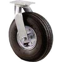 8In Hd Pneu Swvl Wheel Caster By Shepherd Hardware